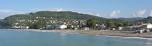 фото поселок лоо